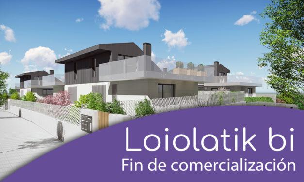 Fin de comercialización Loiolatik bi