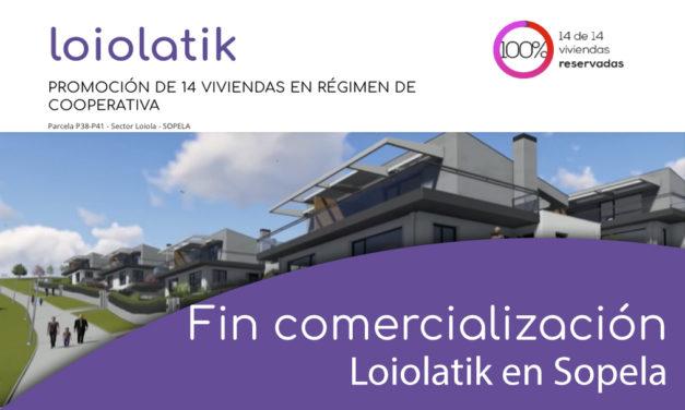 Fin comercialización de Loiolatik en Sopela