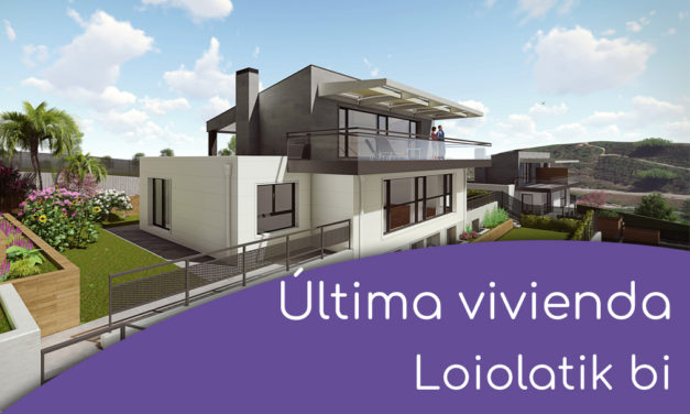 Última vivienda disponible Loiolatik bi
