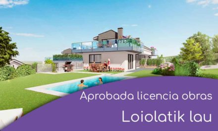 Aprobada la licencia de obras para Loiolatik Lau
