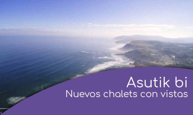 Asutik Bi. Nuevos chalets con vistas al mar en Sopela