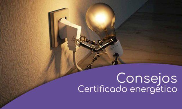 Recomendaciones sobre el certificado de eficiencia energética